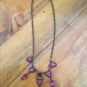 Jewelry - Vintage necklace With Purple Stones